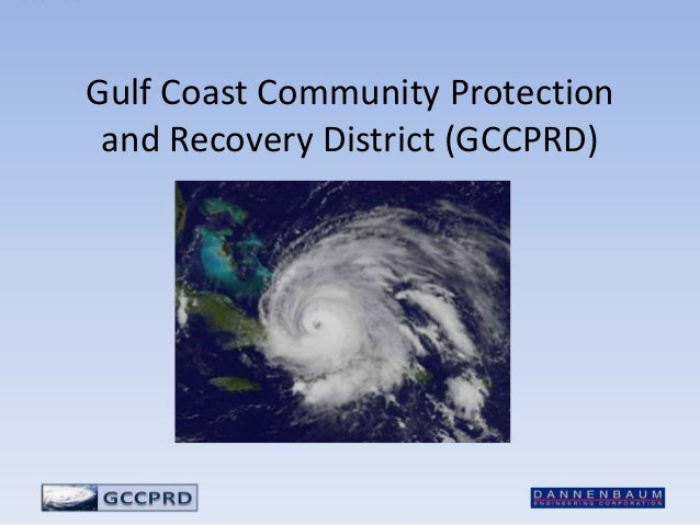 Gulf Coast Community Protection and Recovery District (GCCPRD)