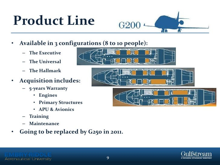 gulfstream aerospace 9
