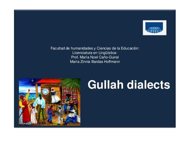 Facultad de humanidades y Ciencias de la Educación:             Licenciatura en Lingüística-            Prof. María Noel C...