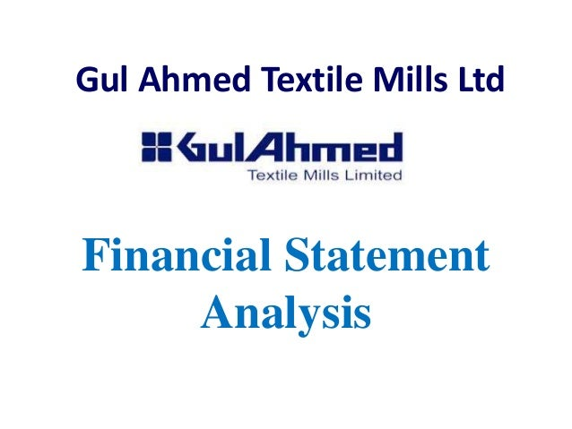 swot analysis on gul ahmed The capacity of gul ahmed spindles is 120,000, and the spinning units are  of  freedom and decision power 02 2 04 total 1 291 swot analysis page | 7.