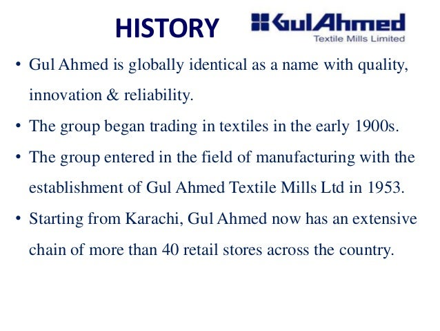 analysing financial statement of gul ahmed textile mill ltd essay Title: authors: abstract: an efficient algorithm for load balancing in cloud computing published in international journal of engineering sciences & research technology.