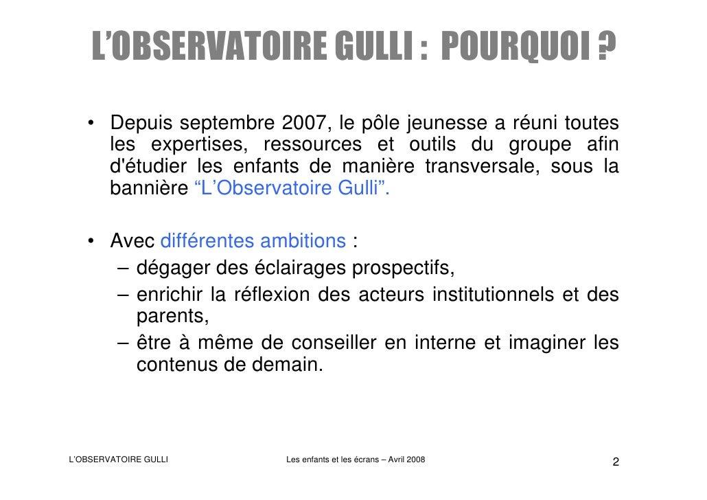 Gulli L'Obs RéSultats Avril2008 Slide 2