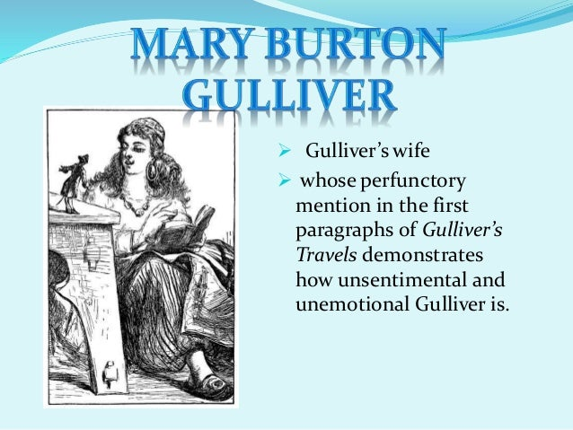 Gullivers travels and self