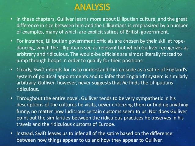 satire in gulliver travels part 4