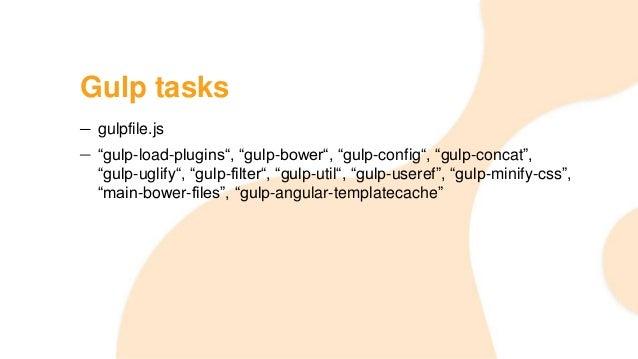 how to run gulp in visual studio