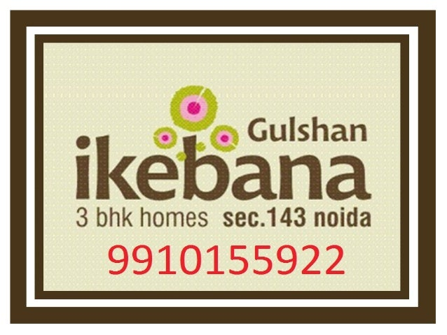 Gulshan Ikebana Resale 9910155922 , Resale Flats in Gulshan Ikebana