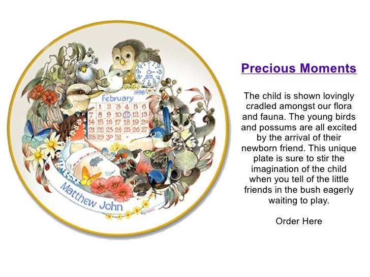 Personalized baby gift plates order here 6 negle Gallery