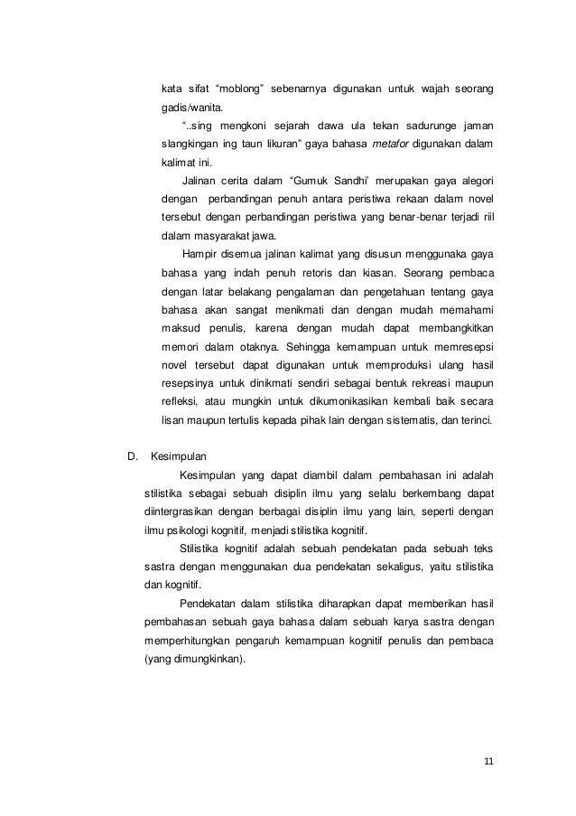 35 Terbaik Untuk Contoh Tema Novel Bahasa Jawa Fatiha Decor