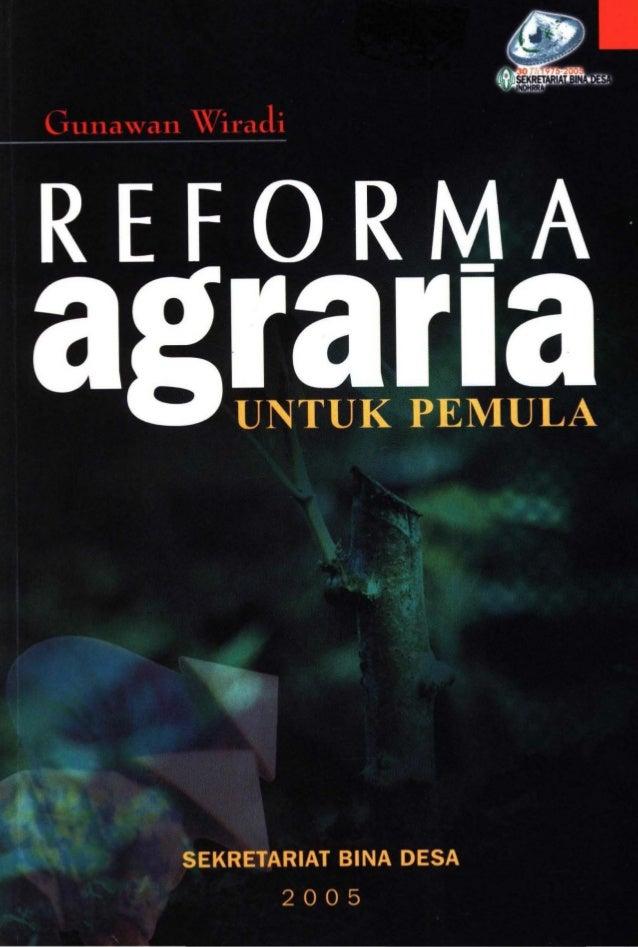Gunawan Wiradi EDITOR : Esrom Arltonang SEKRETARIAT BINA DESA 2005