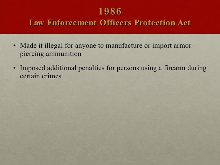 handguns should be outlawed with the exception of law enforcement Today the office of the attorney general (ago) is issuing the enclosed enforcement notice to provide gun manufacturers, licensed dealers, and the public with greater clarification on the massachusetts assault weapons ban, gl c 140, §§ 128 and 13 im, and the definition of assault weapon contained in gl c 140, § 121.