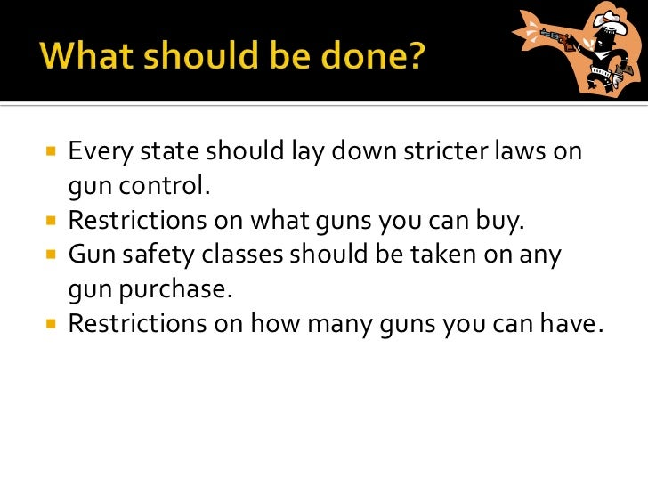 Persuasive essay on stricter gun laws