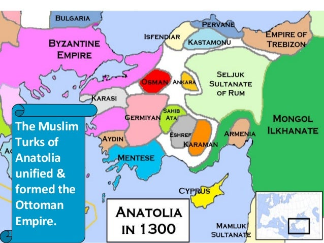 The Ottomans used muskets and cannons to form a powerful army and expand their territory The Muslim Turks of Anatolia unif...