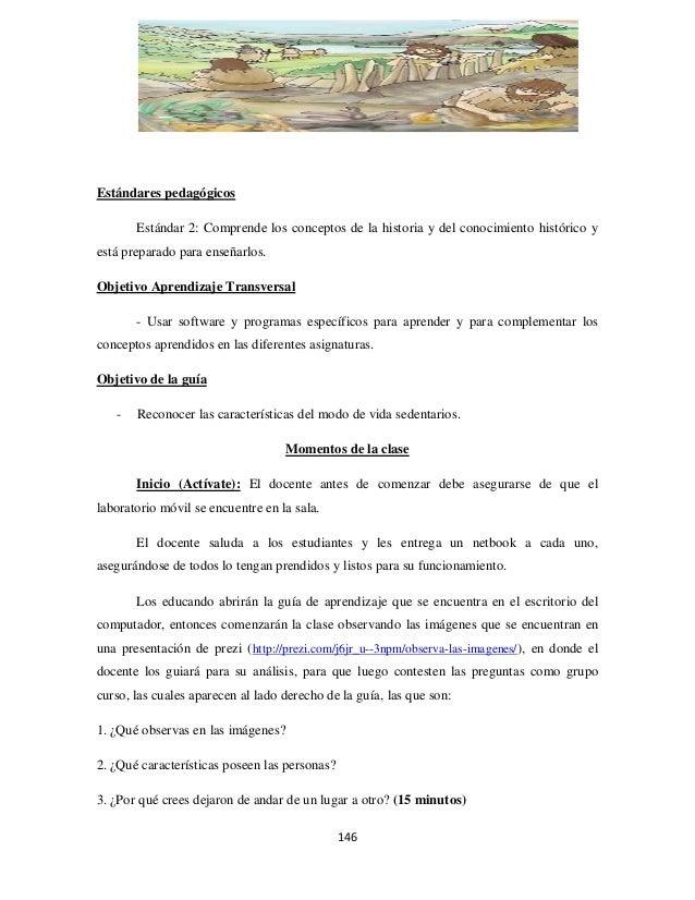 Estándares pedagógicos Estándar 2: Comprende los conceptos de la historia y del conocimiento histórico y está preparado pa...