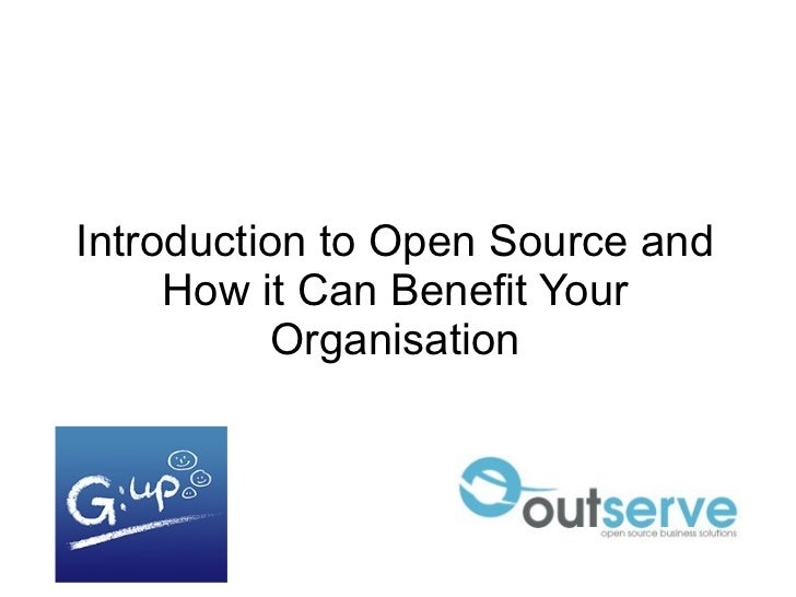 Introduction to Open Source and How it Can Benefit Your Organisation