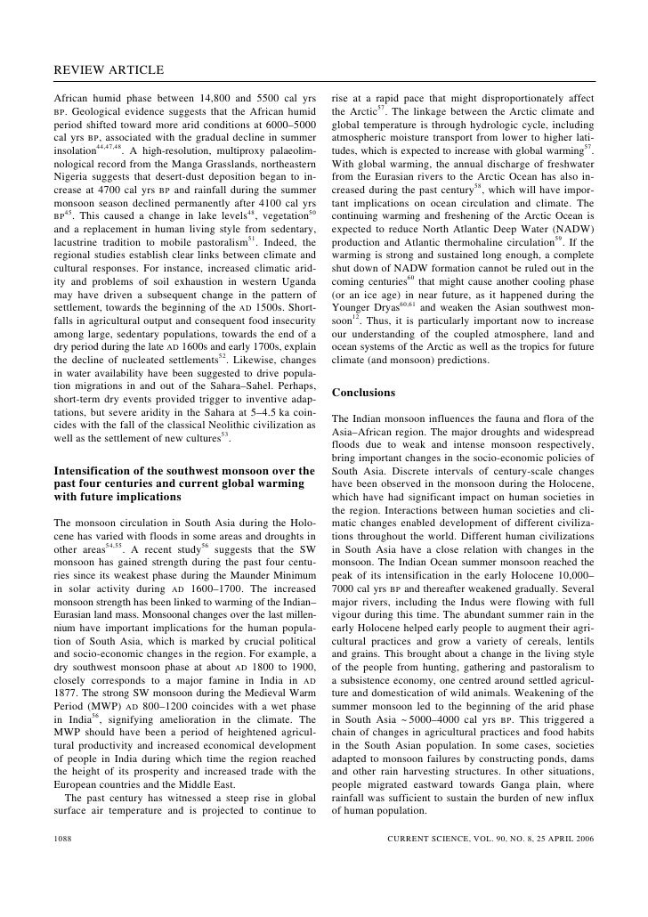 current science article