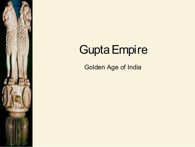 GuptaEmpire Golden Age of India