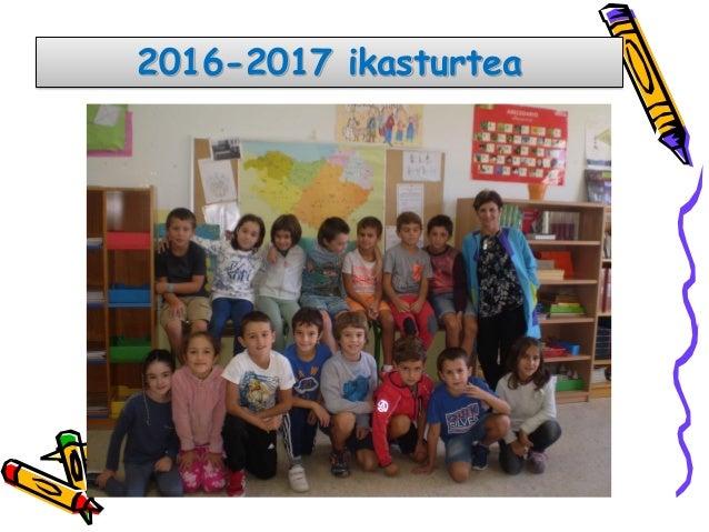 2016-2017 ikasturtea