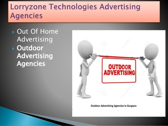  Out Of Home Advertising  Outdoor Advertising Agencies
