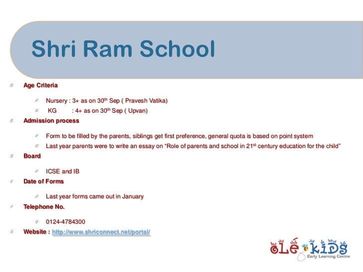 Gurgaon Nursery School Admission