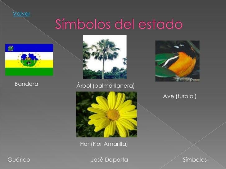 Simbolos Patrios Y Naturales Del Estado Guarico | gu 225 rico