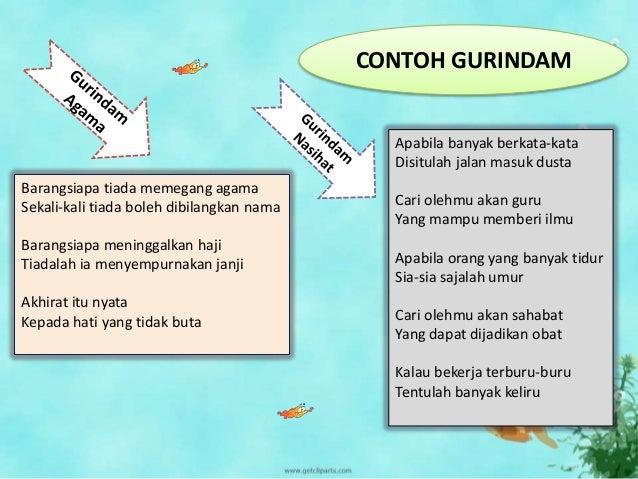 Gurindam Bahasa Indonesia