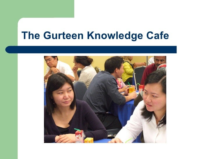 The Gurteen Knowledge Cafe