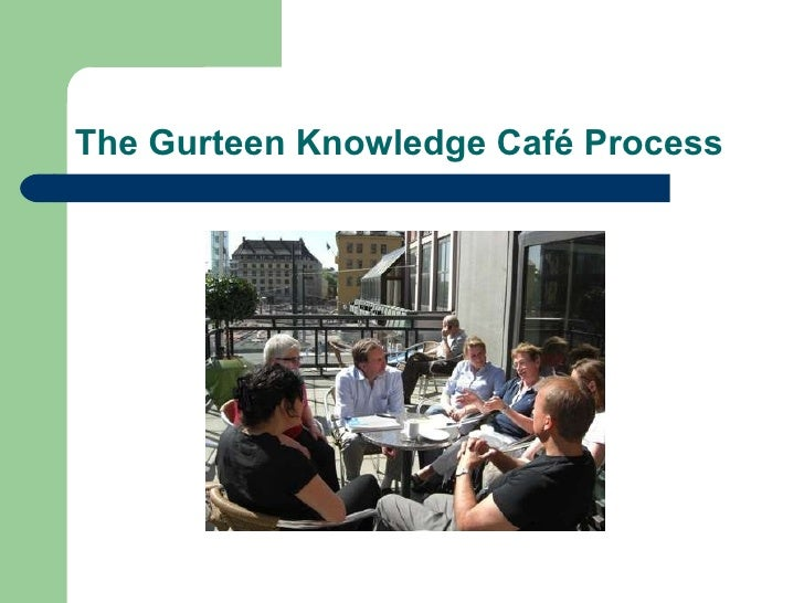 The Gurteen Knowledge Café Process