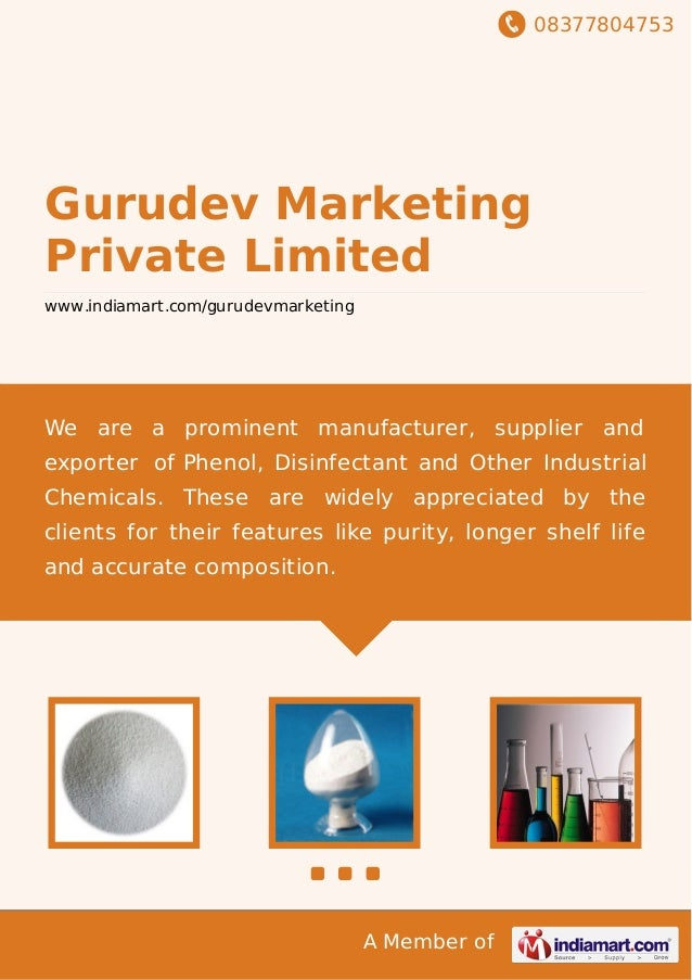 08377804753 A Member of Gurudev Marketing Private Limited www.indiamart.com/gurudevmarketing We are a prominent manufactur...