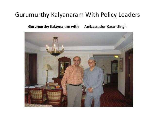 gurumurthy kalyanaram
