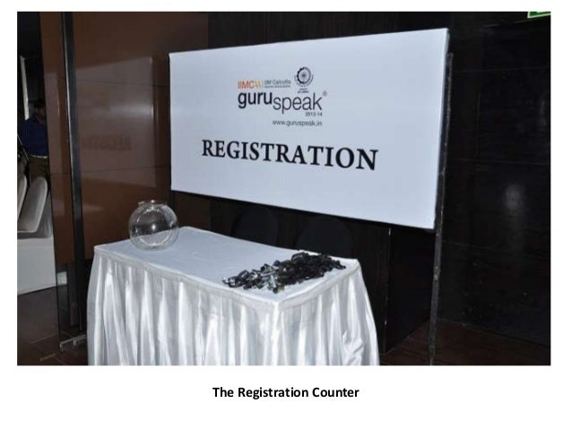 The Registration Counter