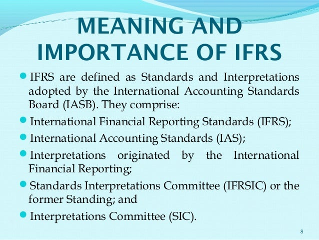 international accounting standards board definition