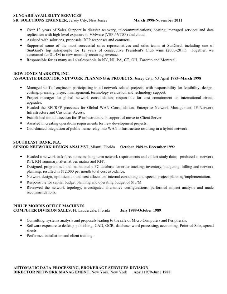 Disaster Recovery Resume - Contegri.com