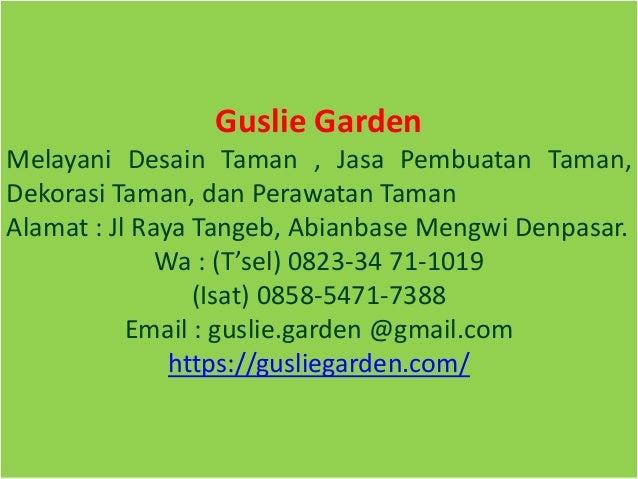 Wa Isat 0858 5471 7388 Gambar Landscape Taman Rumah