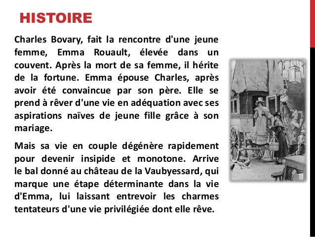 Rencontre charles emma madame bovary