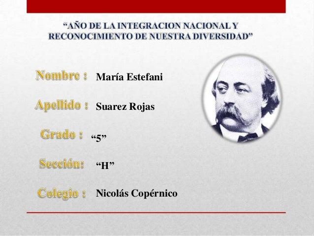"María EstefaniSuarez Rojas""5""""H""Nicolás Copérnico"