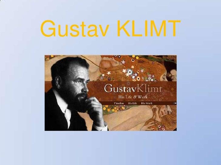 Gustav KLIMT<br />