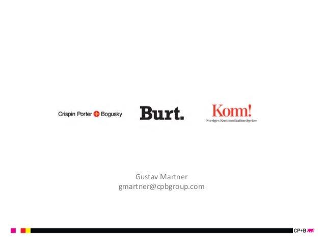Gustav  Martner  gmartner@cpbgroup.com