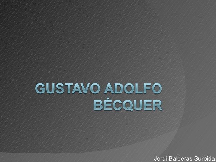 Jordi Balderas Surbida