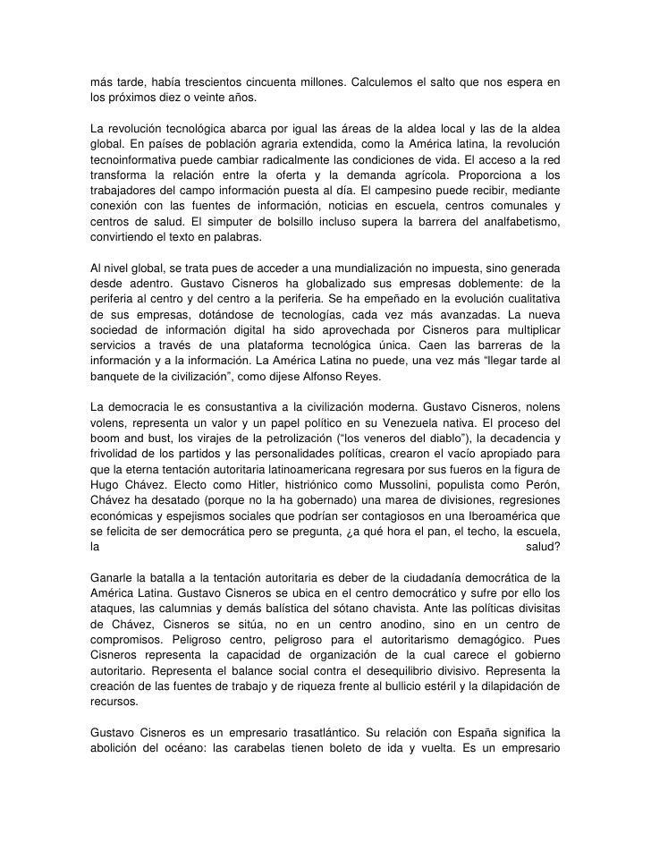 Gustavo Cisneros - la enciclopedia libre