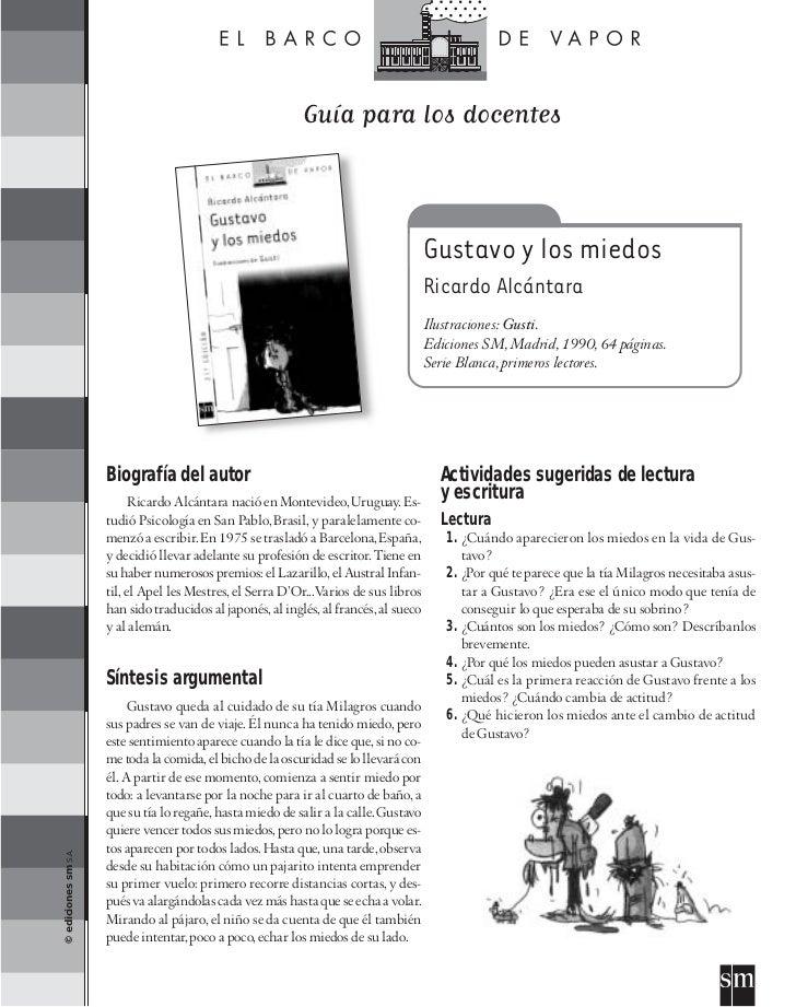 Guía para los docentes                                                                                        Gustavo y lo...
