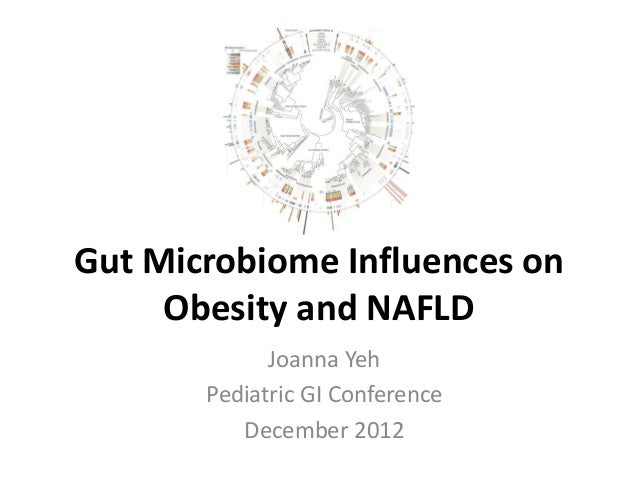 Gut Microbiome Influences on Obesity and NAFLD Joanna Yeh Pediatric GI Conference December 2012