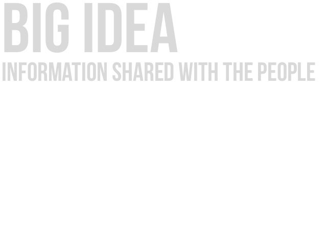 big ideainformation shared with the people