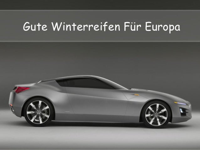 Gute Winterreifen F�r Europa