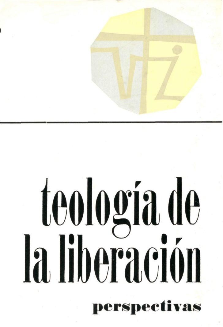 teología dela liberación     perspectivas