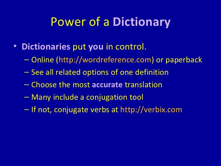 Translators vs dictionaries unreliability 4 power of a dictionary malvernweather Gallery