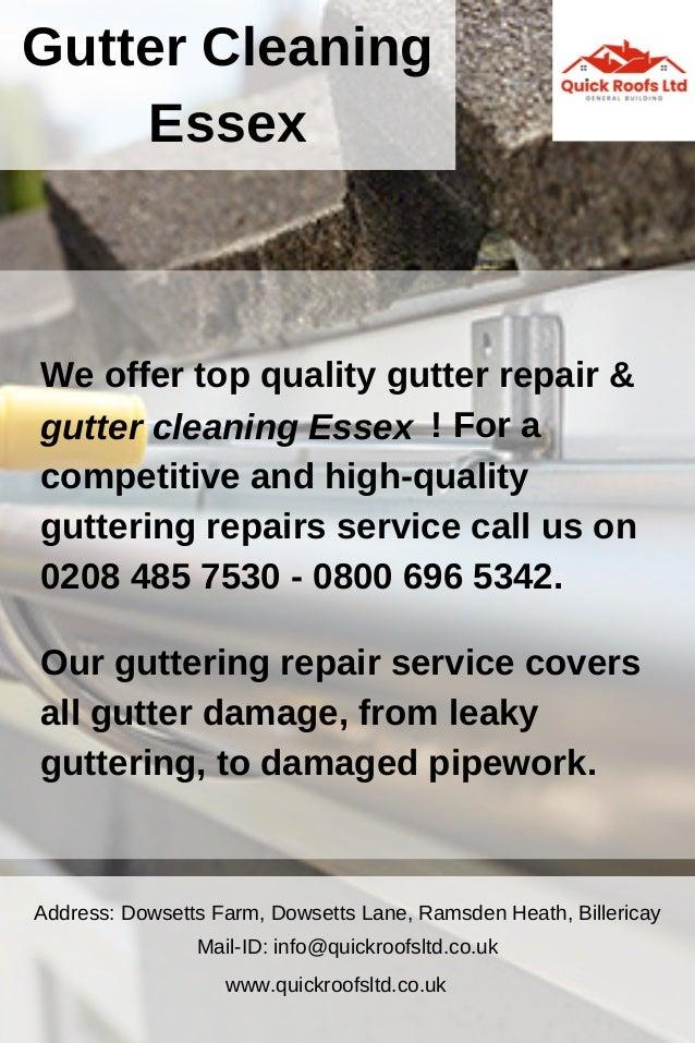 Gutter Cleaning Essex