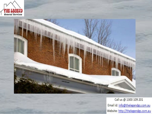 Gutter protection system to prevent ice dams Slide 3