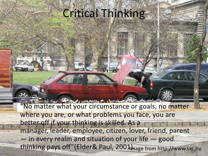 dr. pauls miniature guide to critical thinking pdf