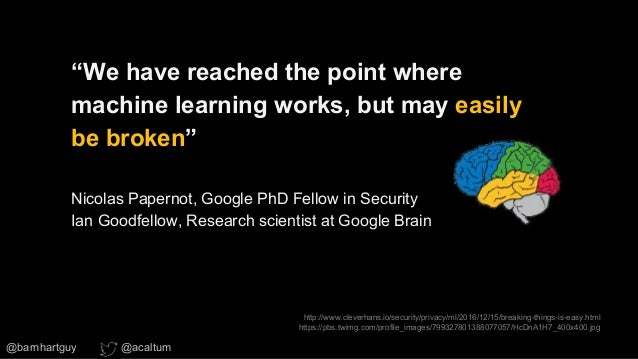 JARVIS never saw it coming: Hacking machine learning (ML) in