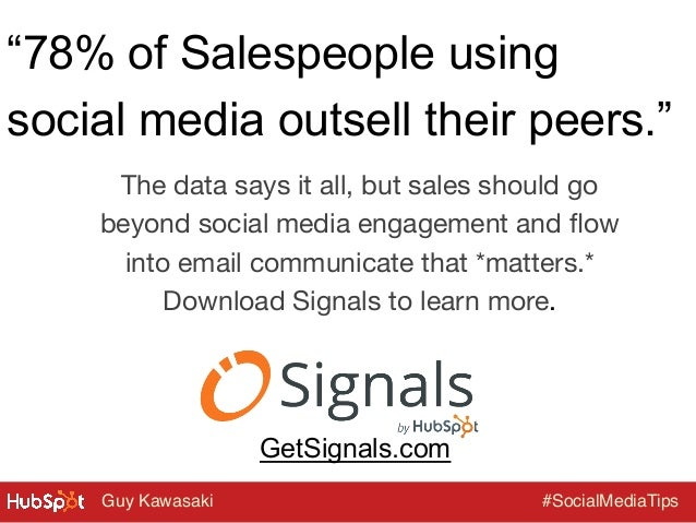 """""""78% of Salespeople using social media outsell their peers."""" The data says it all, but sales should go beyond social media..."""
